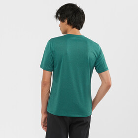 Salomon Explr SS Tee Men, green gables/pacific/heather